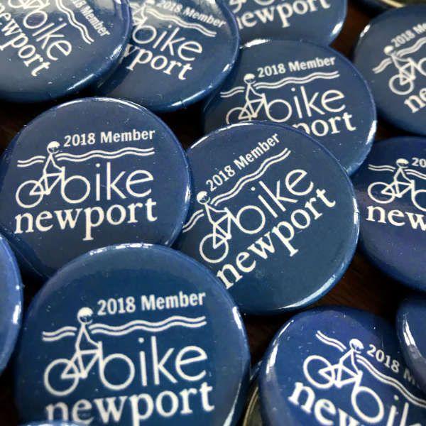 Bike Newport member buttons