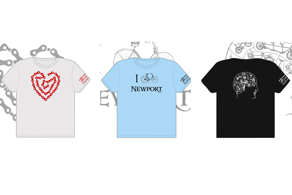 Bike Newport tshirts