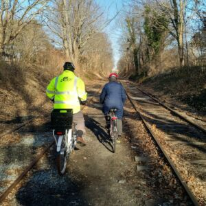 Newport Bike Path, The First Mile
