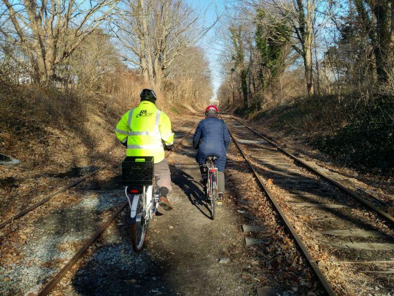Newport Bike Path, The First Mile