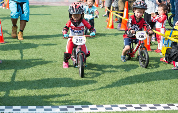 Kids racing: the last lap for our End of Year Fundraising campaign