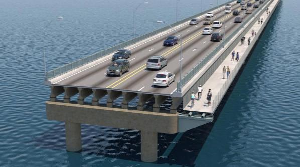 Pell Bridge Bike Path proposal