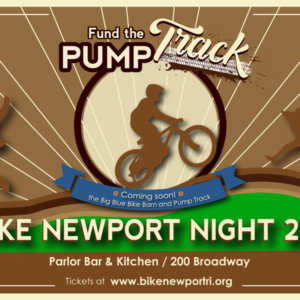 Pump Track bike newport night 2019