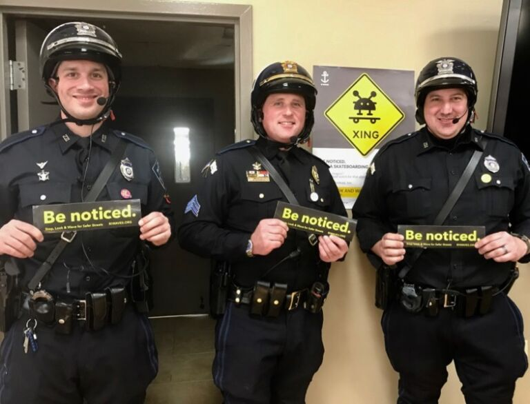 RI Waves Be Noticed Officers