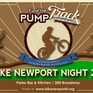 Bike Newport Night Banner