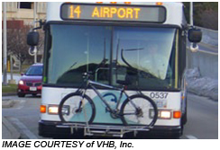 Take bike on a bus