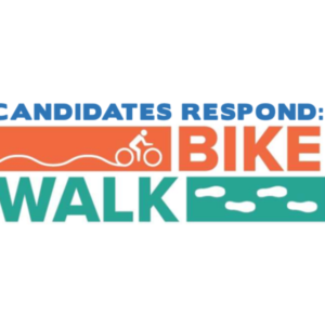Logo for Bike Newport's Candidate Questions