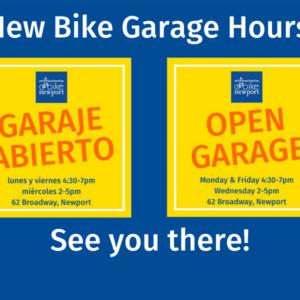 New Bike Garage hours